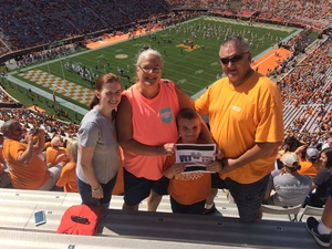 Click To Read More Feedback from University of Tennessee Vols vs. Indiana State - NCAA Football