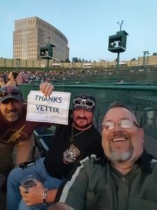 Brian attended Sammy Hagar and the Circle With Collective Soul on Sep 12th 2017 via VetTix