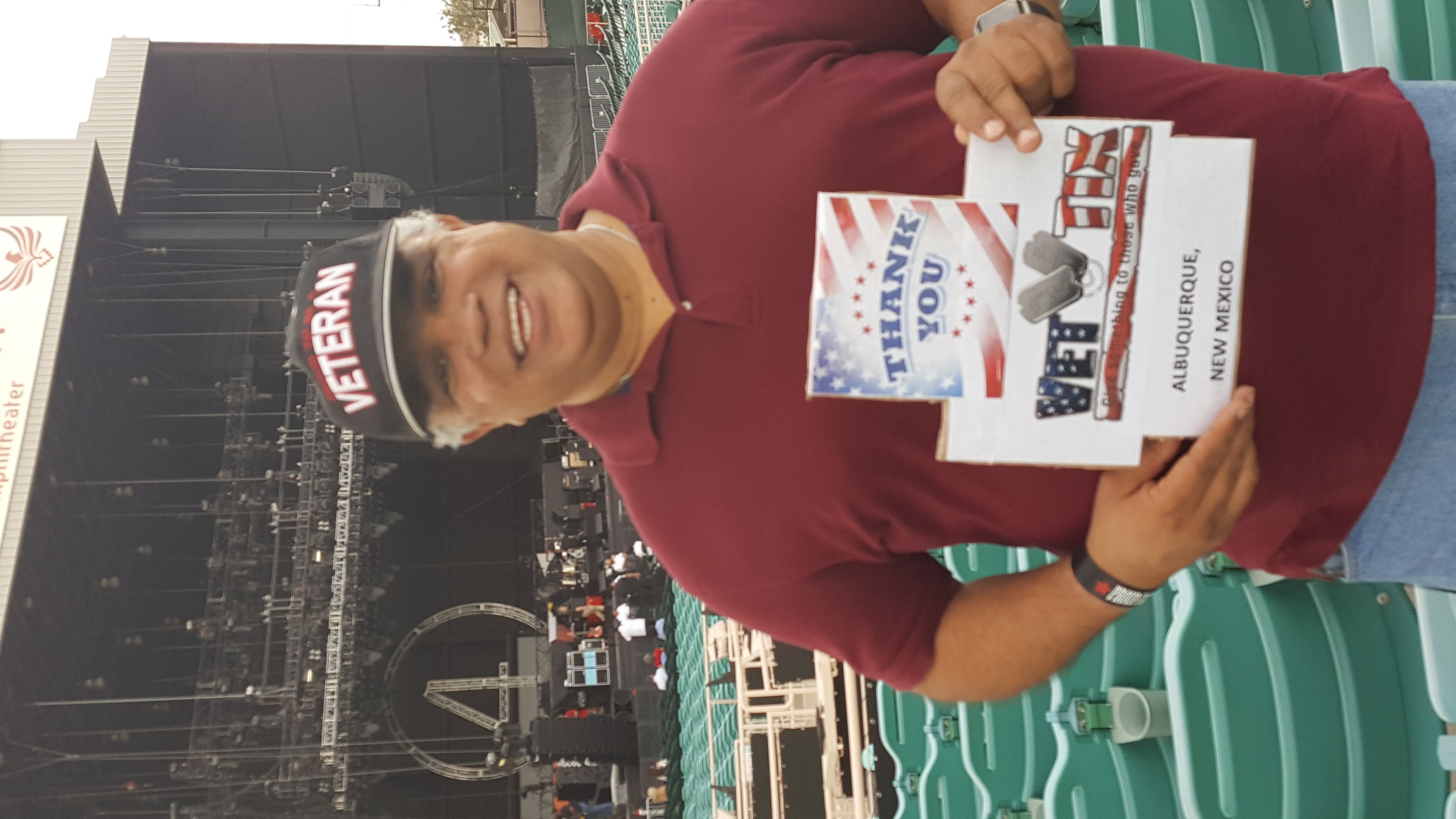 84ca30503405 HUMBERTO attended 40th Anniversary Tour - Foreigner With Cheap Trick and  Jason Bonham s Led Zeppelin Experience