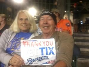 Gary attended Milwaukee Brewers vs. Pittsburgh Pirates - MLB on Sep 13th 2017 via VetTix