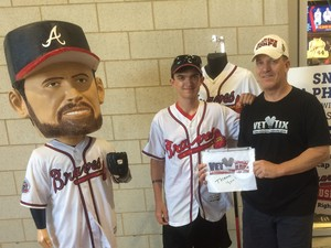 Click To Read More Feedback from Atlanta Braves vs. Philadelphia Phillies - MLB - Nick Markakis Row!