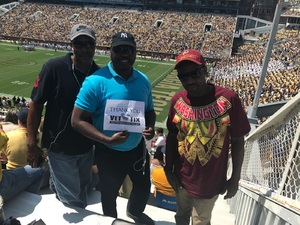 Ronald attended Georgia Tech Yellow Jackets vs. Jacksonville State - NCAA Football on Sep 9th 2017 via VetTix