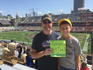 Chris attended Georgia Tech Yellow Jackets vs. Jacksonville State - NCAA Football on Sep 9th 2017 via VetTix