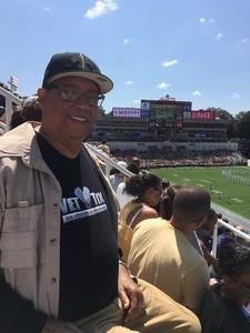 Teddous attended Georgia Tech Yellow Jackets vs. Jacksonville State - NCAA Football on Sep 9th 2017 via VetTix