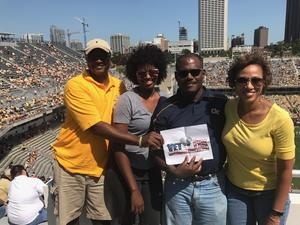Michael attended Georgia Tech Yellow Jackets vs. Jacksonville State - NCAA Football on Sep 9th 2017 via VetTix