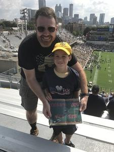 Chris attended Georgia Tech Yellow Jackets vs. Pittsburgh - NCAA Football on Sep 23rd 2017 via VetTix