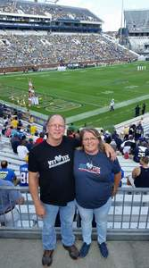 jeffery attended Georgia Tech Yellow Jackets vs. Pittsburgh - NCAA Football on Sep 23rd 2017 via VetTix