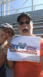 John attended Georgia Tech Yellow Jackets vs. Pittsburgh - NCAA Football on Sep 23rd 2017 via VetTix