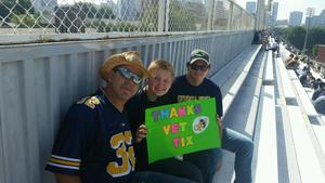 David attended Georgia Tech Yellow Jackets vs. Pittsburgh - NCAA Football on Sep 23rd 2017 via VetTix