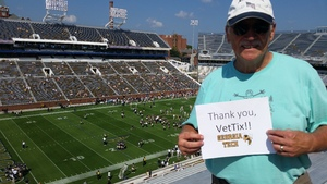 Jim attended Georgia Tech Yellow Jackets vs. Pittsburgh - NCAA Football on Sep 23rd 2017 via VetTix