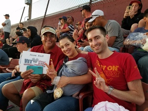 Matthew attended University of Southern California Trojans vs. Stanford - NCAA Football on Sep 9th 2017 via VetTix