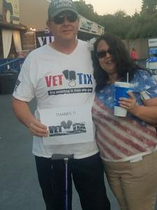 frank attended Jeff & Larry's Backyard BBQ Wih Special Guest Eddie Money and the Marshall Tucker Band - Reserved Seats on Sep 15th 2017 via VetTix