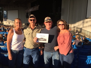 Michael attended Jeff & Larry's Backyard BBQ Wih Special Guest Eddie Money and the Marshall Tucker Band - Reserved Seats on Sep 15th 2017 via VetTix