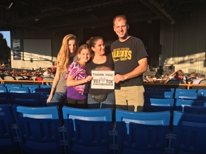 Christopher attended Jeff & Larry's Backyard BBQ Wih Special Guest Eddie Money and the Marshall Tucker Band - Reserved Seats on Sep 15th 2017 via VetTix