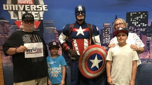 Raymond attended Marvel Universe Live! Age of Heroes - Show Tickets + Captain America Meet & Greet on Sep 8th 2017 via VetTix