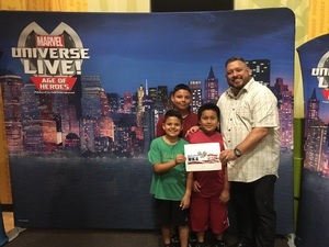 Marcos attended Marvel Universe Live! Age of Heroes - Show Tickets + Captain America Meet & Greet on Sep 8th 2017 via VetTix