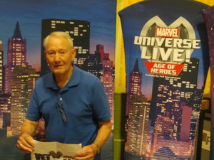 Wallace attended Marvel Universe Live! Age of Heroes - Show Tickets + Captain America Meet & Greet on Sep 8th 2017 via VetTix