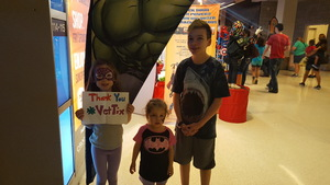 Laura attended Marvel Universe Live! Age of Heroes - Show Tickets + Captain America Meet & Greet on Sep 8th 2017 via VetTix