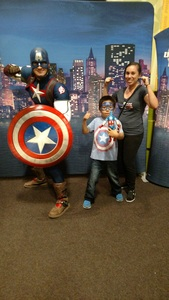Michelle attended Marvel Universe Live! Age of Heroes - Show Tickets + Captain America Meet & Greet on Sep 8th 2017 via VetTix