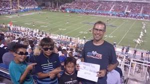 Click To Read More Feedback from Florida Atlantic Owls vs. Navy - NCAA Football