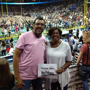 Vickie attended Philadelphia Soul vs. Tampa Bay Storm - Arena Bowl XXX on Aug 26th 2017 via VetTix