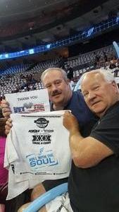 Gary attended Philadelphia Soul vs. Tampa Bay Storm - Arena Bowl XXX on Aug 26th 2017 via VetTix