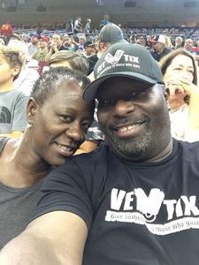Warren attended Philadelphia Soul vs. Tampa Bay Storm - Arena Bowl XXX on Aug 26th 2017 via VetTix