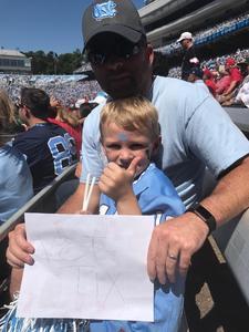 Click To Read More Feedback from University of North Carolina Tar Heels vs. Louisville - NCAA Football