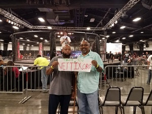 Jerry attended Nlfc 8 - MMA Fight Night - Live Mixed Martial Arts - Presented by Next Level Fight Club on Sep 16th 2017 via VetTix