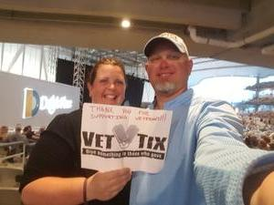 Anthony attended Goo Goo Dolls - Long Way Home Summer Tour With Phillip Phillips on Sep 2nd 2017 via VetTix