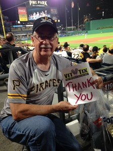 RON attended Pittsburgh Pirates vs. Baltimore Orioles - MLB on Sep 27th 2017 via VetTix