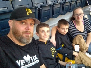 Drew F. attended Pittsburgh Pirates vs. Baltimore Orioles - MLB on Sep 27th 2017 via VetTix
