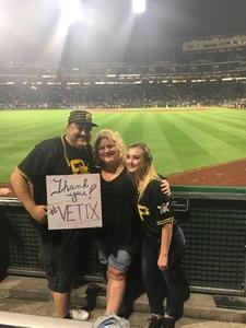 Jason attended Pittsburgh Pirates vs. Baltimore Orioles - MLB on Sep 27th 2017 via VetTix