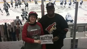 Alvis attended Chicago Wolves vs. Milwaukee Admirals - AHL on Nov 12th 2017 via VetTix