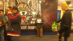 rodolfo attended Chicago Wolves vs. Milwaukee Admirals - AHL on Nov 12th 2017 via VetTix