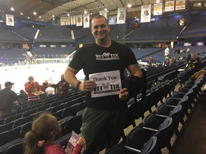 Adam attended Chicago Wolves vs. Iowa Wild - AHL on Nov 26th 2017 via VetTix
