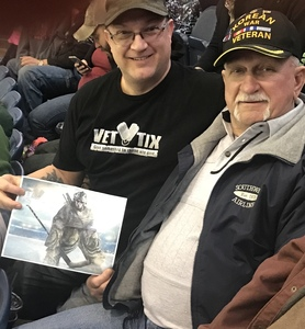 Steven attended Chicago Wolves vs. Cleveland Monsters - AHL on Jan 21st 2018 via VetTix