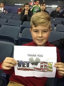 Chad attended Chicago Wolves vs. Cleveland Monsters - AHL on Jan 21st 2018 via VetTix