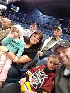 Justin attended Chicago Wolves vs. Cleveland Monsters - AHL on Jan 21st 2018 via VetTix