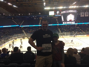 Adam attended Chicago Wolves vs. Rockford Icehogs - AHL on Mar 17th 2018 via VetTix