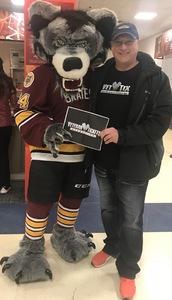 Steven attended Chicago Wolves vs. Milwaukee Admirals - AHL on Apr 7th 2018 via VetTix