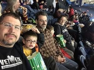 Shaun attended Chicago Wolves vs. Milwaukee Admirals - AHL on Apr 7th 2018 via VetTix