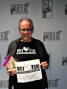 David attended Nana's Naughty Knickers - Presented by Meadow Brook Theatre - Saturday on Jan 13th 2018 via VetTix