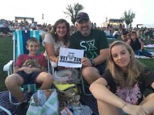 Kevin attended Brad Paisley: Weekend Warrior World Tour 2017 With Special Guest Dustin Lynch, Chase Bryant and Lindsay Ell - Lawn Seats on Sep 24th 2017 via VetTix