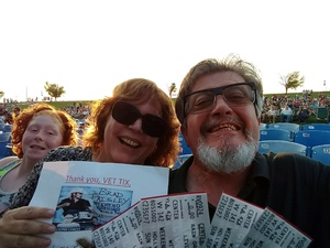 Michael attended Brad Paisley: Weekend Warrior World Tour 2017 With Special Guest Dustin Lynch, Chase Bryant and Lindsay Ell - Lawn Seats on Sep 24th 2017 via VetTix