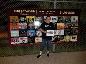 Tamara attended Brad Paisley: Weekend Warrior World Tour 2017 With Special Guest Dustin Lynch, Chase Bryant and Lindsay Ell - Lawn Seats on Sep 24th 2017 via VetTix