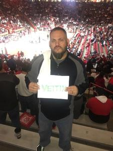 Anthony attended University of New Mexico Lobos vs. Arizona - NCAA Mens Basketball on Dec 16th 2017 via VetTix