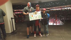 Rebecca attended University of New Mexico Lobos vs. Arizona - NCAA Mens Basketball on Dec 16th 2017 via VetTix
