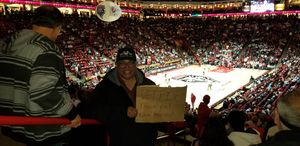 HUMBERTO attended University of New Mexico Lobos vs. Arizona - NCAA Mens Basketball on Dec 16th 2017 via VetTix