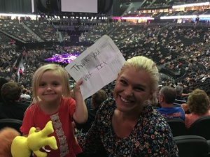 rachel attended George Strait - Strait to Vegas on Sep 1st 2017 via VetTix